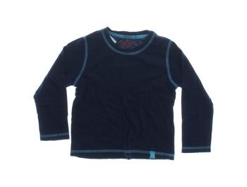 Dětské triko Lupilu s dlouhým rukávem modré