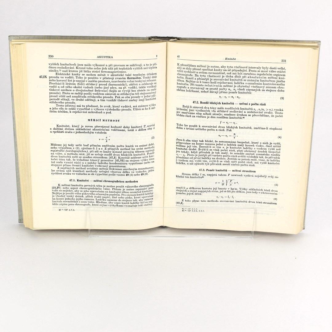 Kniha Praktická fysika Zdeněk Horák