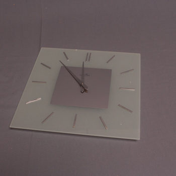 Nástěnné hodiny Nextime Stripe Square