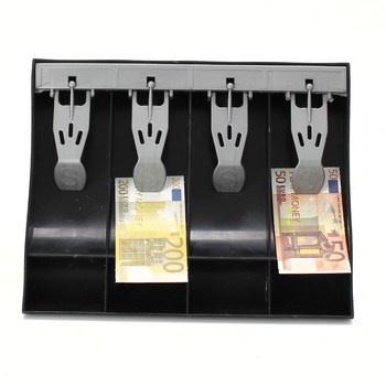 Pokladní box Eddy Toys s euro penězmi