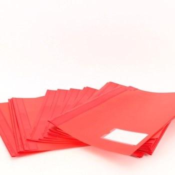 Desky na dokumenty Durable odstín červené