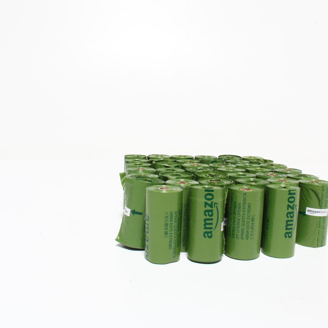 Sáčky AmazonBasics s vůní okurka, 54x15 ks