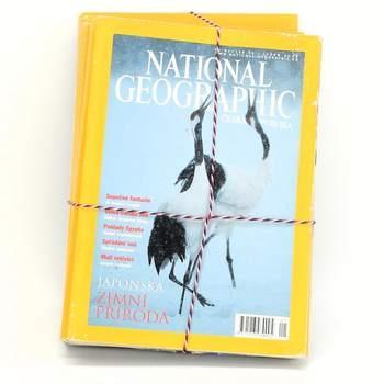 Sada časopisů National Geographic z roku 2003
