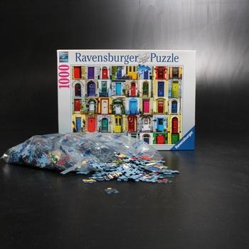 Dětská puzzle Ravensburger Doors