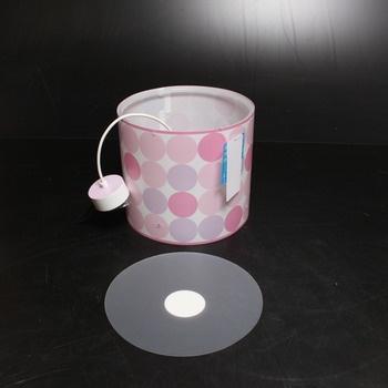 Závěsné svítidlo Dalber 62002S růžové