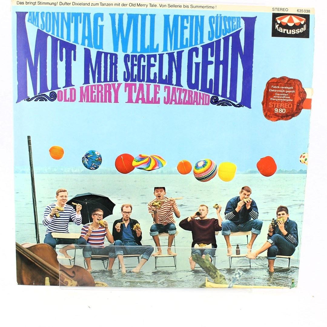LP deska Old Merry Tale Jazzband