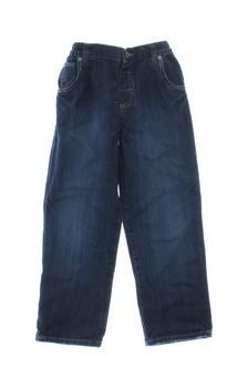 Dětské džíny Marks & Spencer tmavě modré