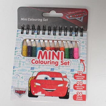 Mini set s pastelkami Jiri Models Auta