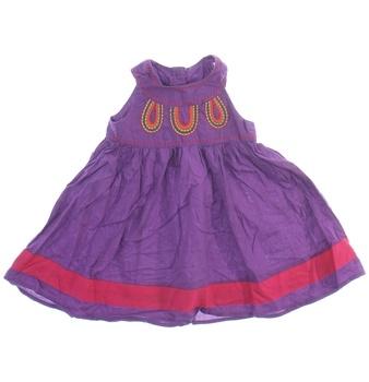 Kojenecké šaty George fialové
