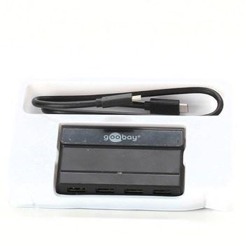 USB C Hub Goobay Gen2 4066 černý