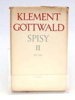 Kniha Klement Gottwald: Spisy ll
