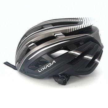 Cyklistická helma Lixada šedá
