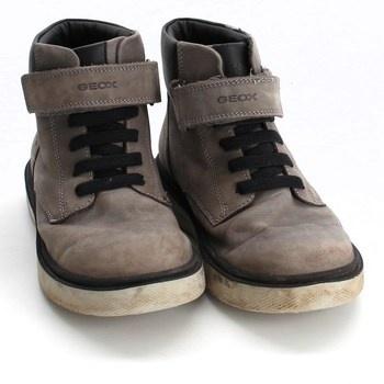 Dětské kotníkové boty Geox šedé