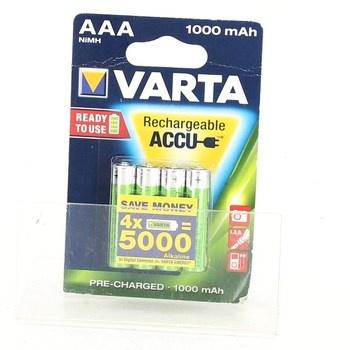 Nabíjecí baterie Varta AAA 1000 mAh