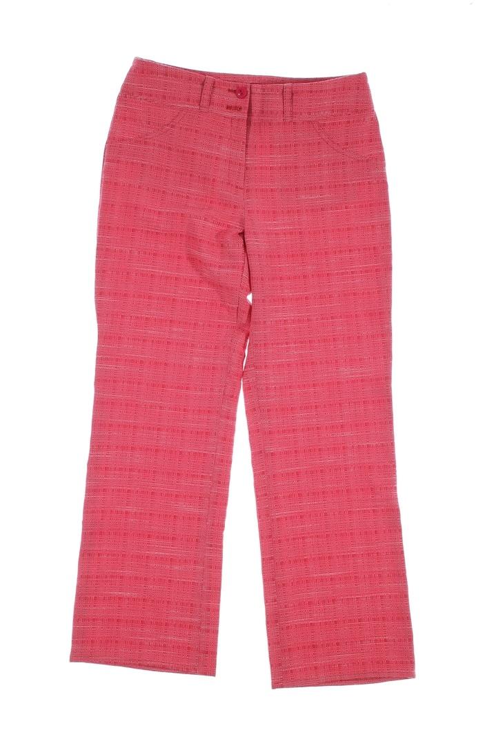 Dámské kalhoty červené barvy