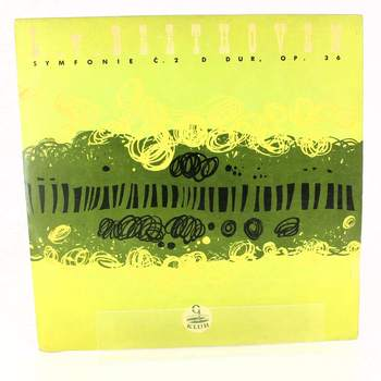 Gramofonová deska symfonie Ludwig van Beethoven