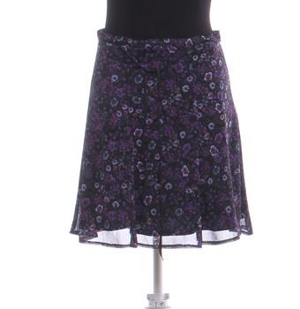 Dámská sukně ke kolenům Orsay se vzorem