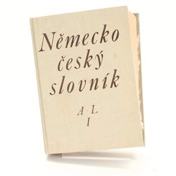 Kniha Německo-český slovník A-L Hugo Seibenschein