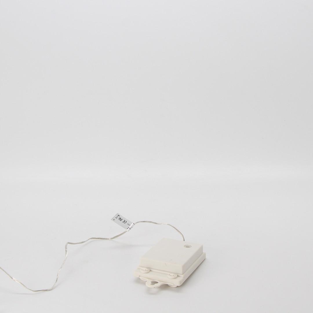 LED osvětlení řetěz bílý 200 cm
