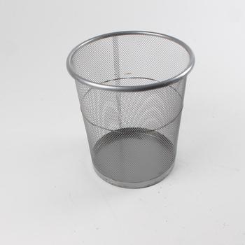 Odpadkový koš drátěný odstín stříbrné