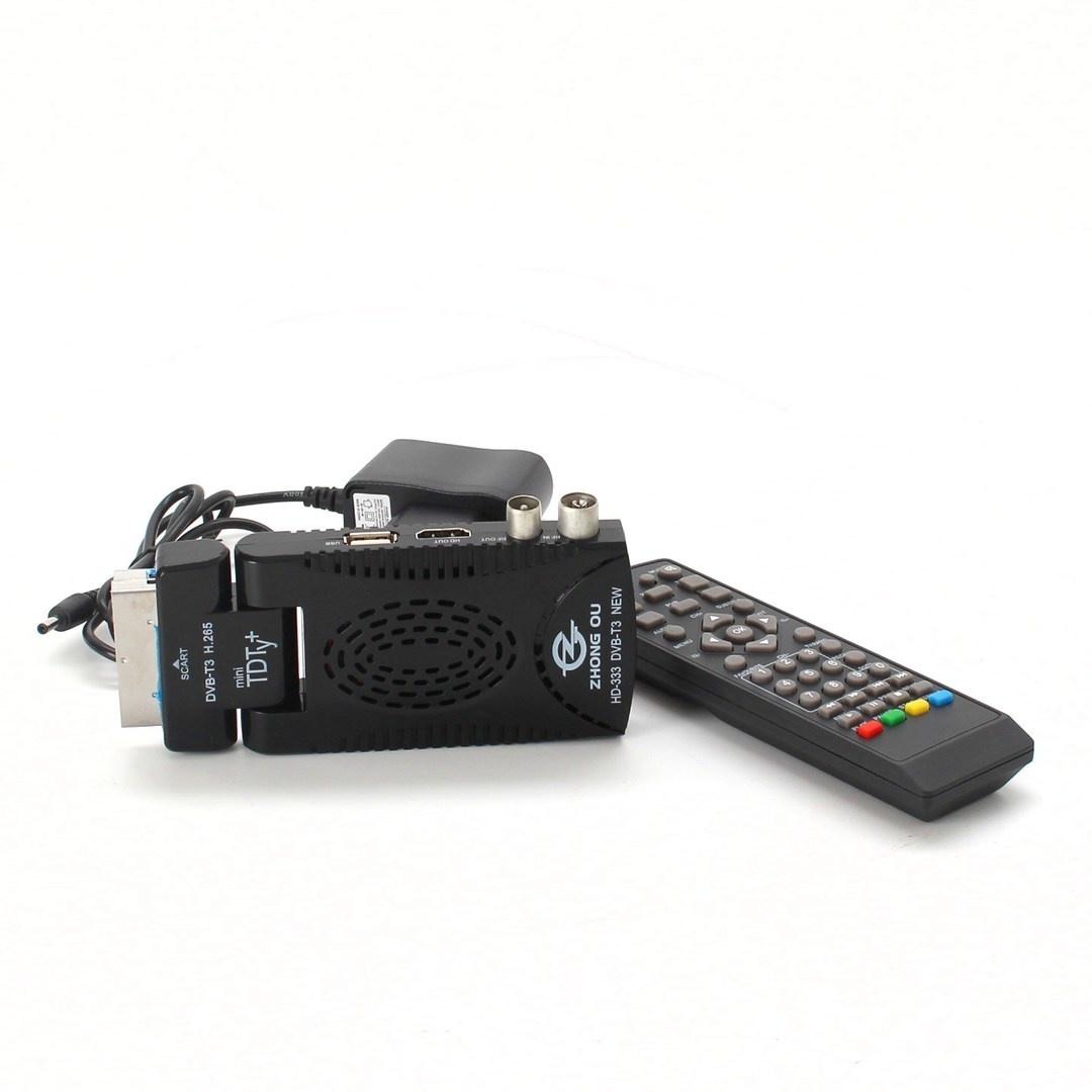 DVB-T2 přijímač SeB Scart 180