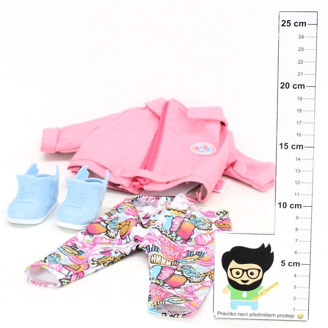 Sada oblečení Baby born pro panenky