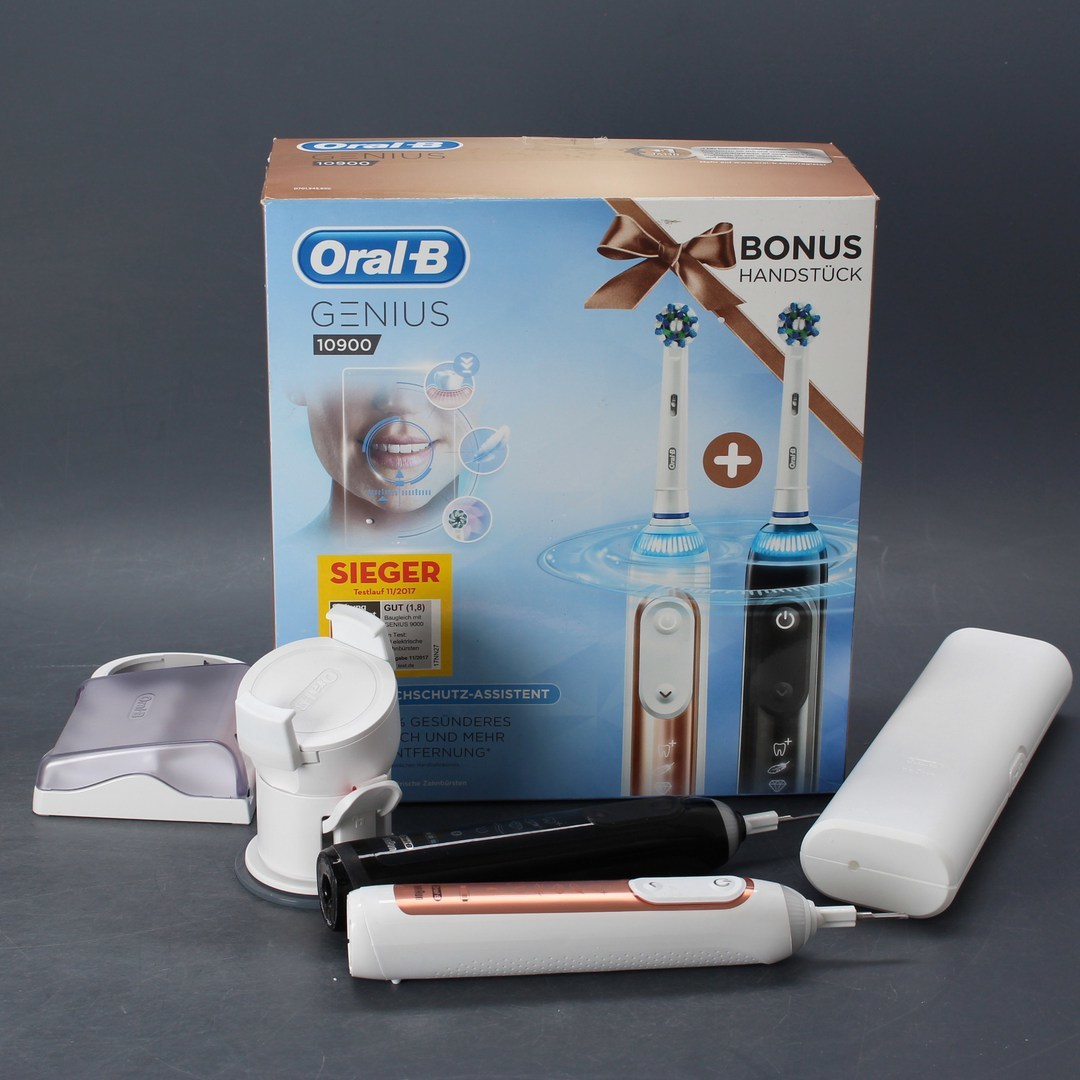 Elektrický kartáček Oral-B Genius 10900 2 ks