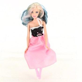 Panenka Barbie s růžovou sukní