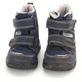 40b7456e0fd Dětské zimní boty Superfit modré barvy