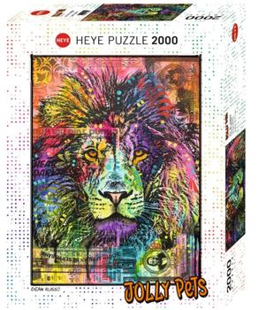 Puzzle Heye HY29894 Lion´s Heart