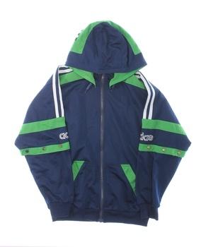 Dětská mikina Adidas modrá s kapucí