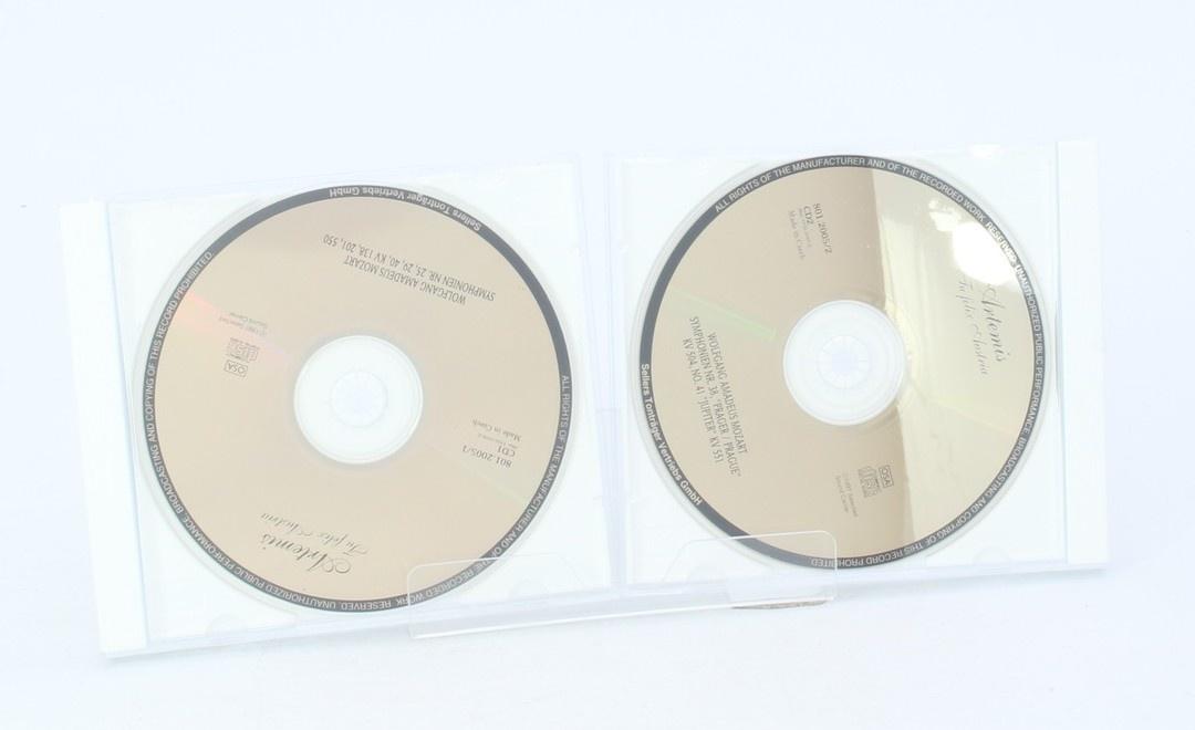 CD Wolfgang Amadeus Mozart: Die grossen Symphonien