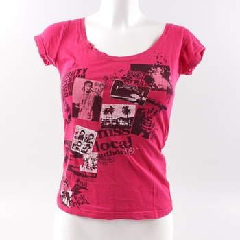 d396689b6d9 Dámské tričko Tally Weijl červené s potiskem