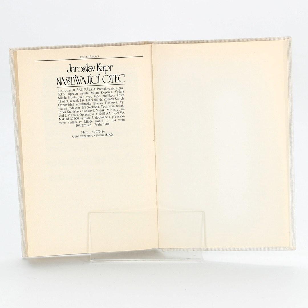 Kniha Nastávající otec, Jaroslav Kapr
