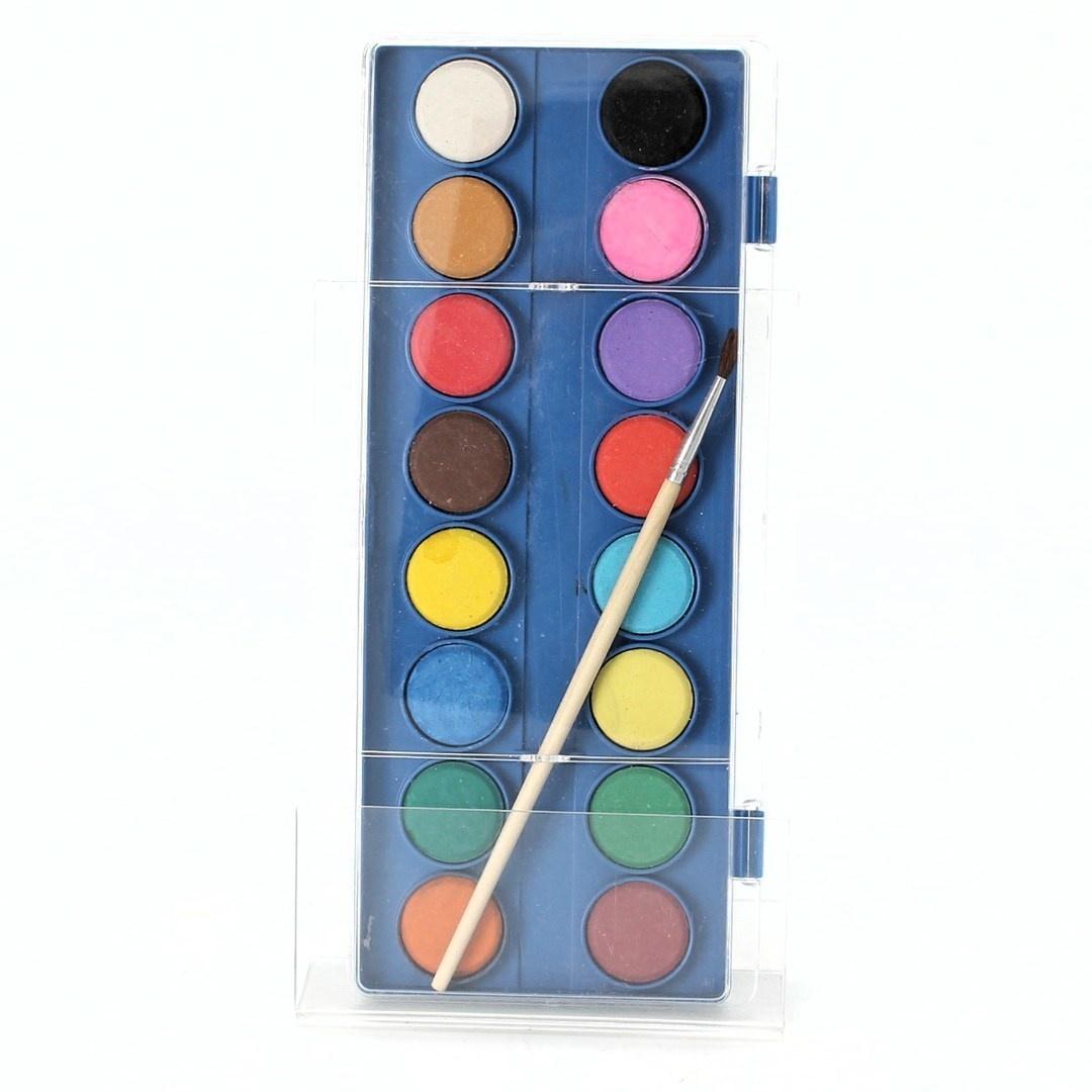 Vodové barvy Topwrite Kids 16 barev