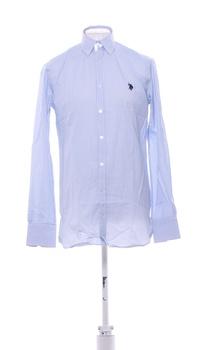 Pánská košile U.S. Polo Assn. sv. modrá M