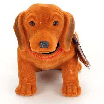 Pes s kývací hlavou hnědý Simba 104329292