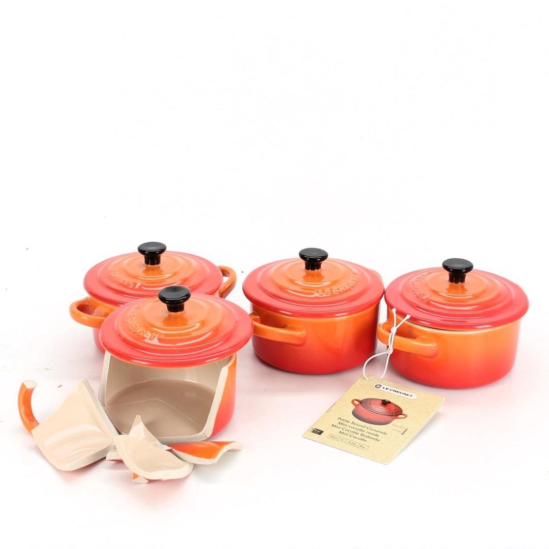 Sada hrnců Le Creuset Mini Cocottes 4 ks