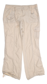 Dámské plátěné kalhoty BE BOP béžové