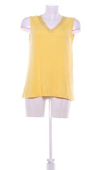 Dámská halenka FLAME žluté barvy