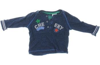 Dětské tričko F&F modré s potiskem