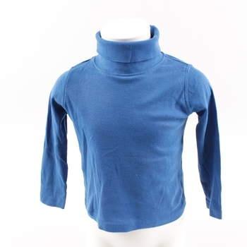 Dětské tričko s rolákem Lupilu modré