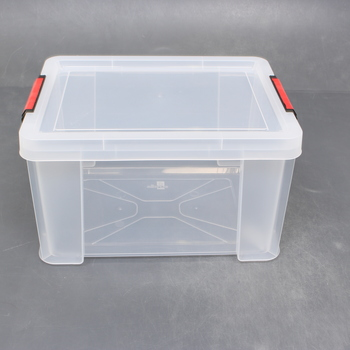 Plastový box s víkem Sundis 29x38x22