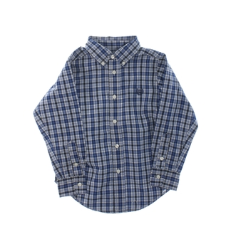 Chlapecká kostkovaná košile Chaps modrá