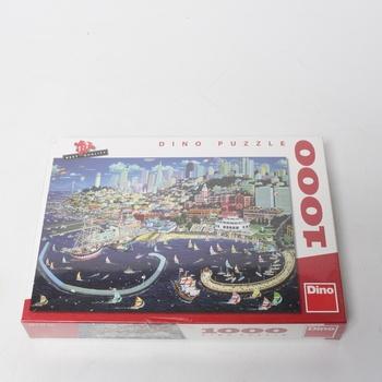 Puzzle DINO San Francisco 1000 dílků