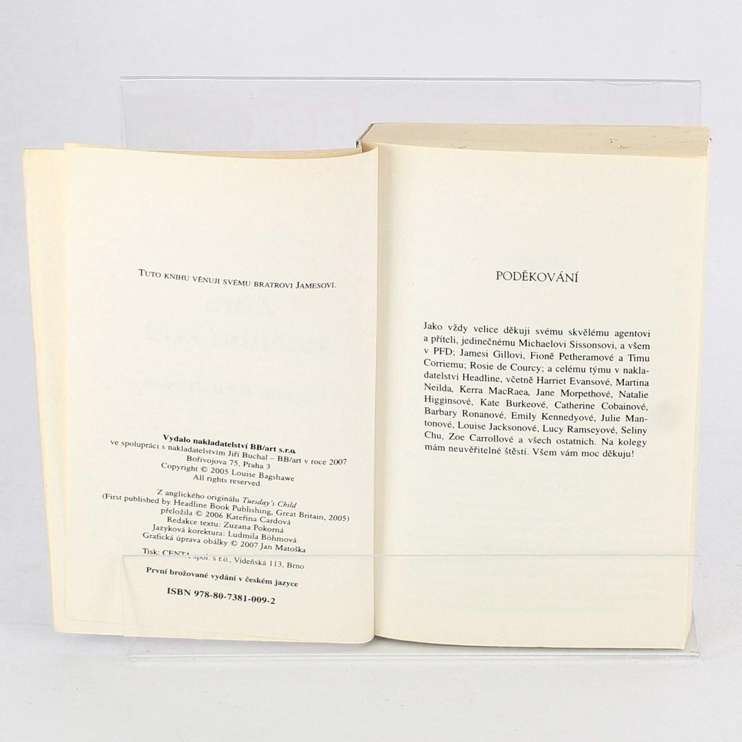 Kniha Louise Bagshawe: Zítra změním svět