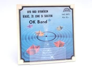 Gramofonová deska SP Supraphon OK Band