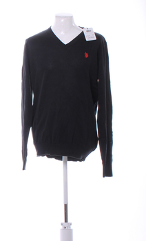 Pánský svetr U.S. Polo Assn. černý XL