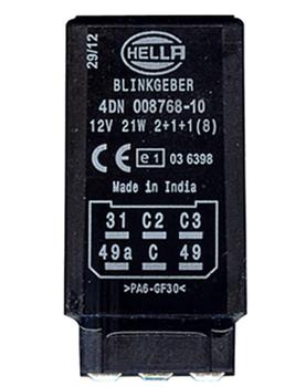 Přerušovač blinkru Hella 4DN 008 768-101
