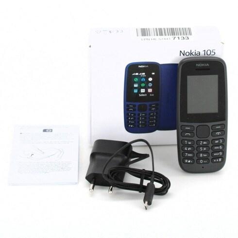 Mobilní telefon Nokia 105 černý
